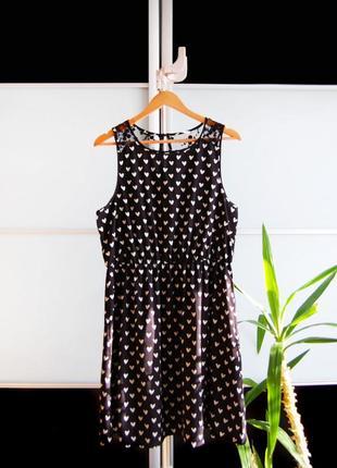 Милое платье в сердечки new look