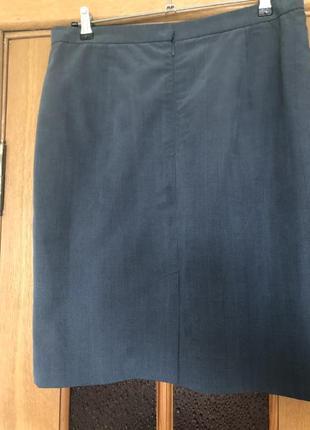 Офисная юбка большой размер