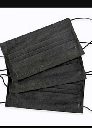 Защитные маски трьохслойные