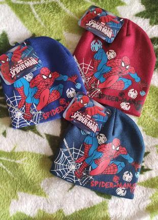 Набор шапок человек паук дисней
