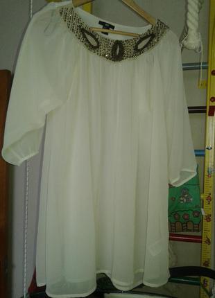 Нежная туника. платье. туника-платье.