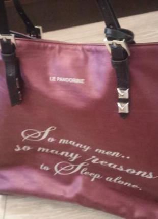 Дизайнерская сумка le pandorine