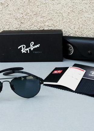 Ray ban ferrari очки капли унисекс солнцезащитные черные линзы стекло