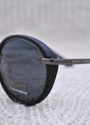 Фирменные солнцезащитные очки marc john polarized mj0766 окуляри круглые с шорой