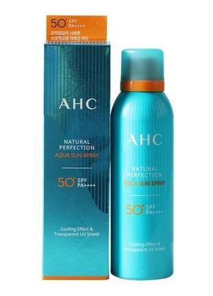 A.h.c natural perfection aqua sun spray spf50+ солнцезащитный увлажняющий спрей,180 мл