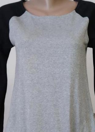 Удлиненная туника кофта свитер пайта джемпер свитшот