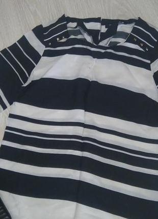 Короткое платье в полоску  f&f