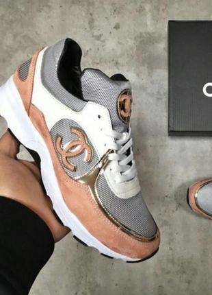 Кроссовки chanel кросівки