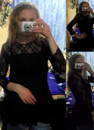Блуза-туника фирмы calliope (шифоновая блузка каллиоп)