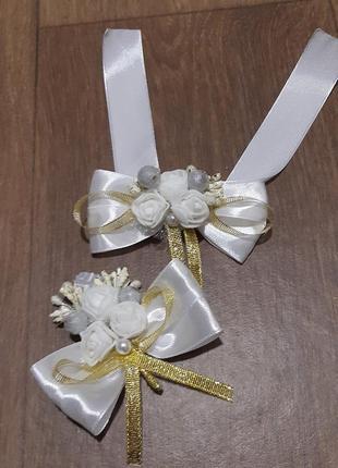 Бутоньерки,  бутоньєрки для весілля