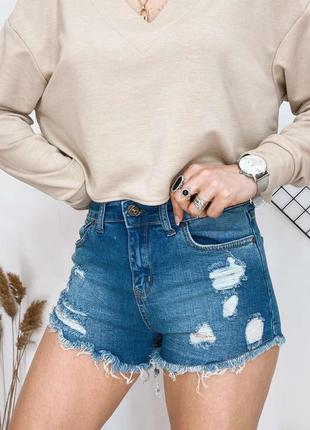 Шорты шортики короткие джинсовые
