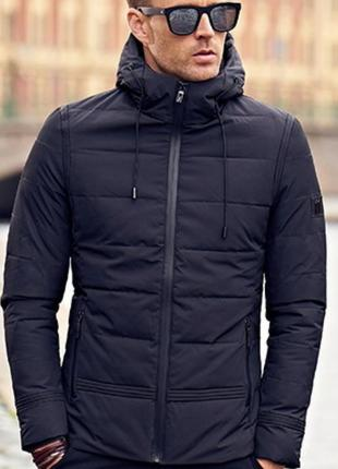 Куртка с капюшоном, размер л