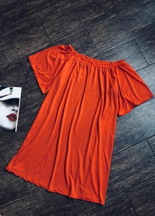 Стильное летнее платье свободного кроя
