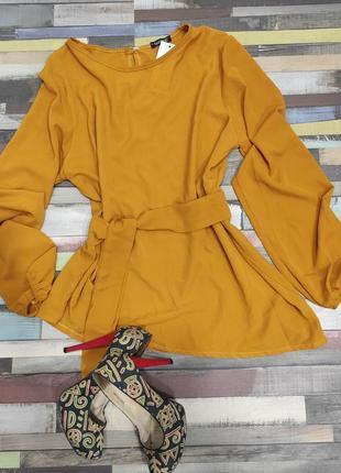 Весенняя стильная блуза