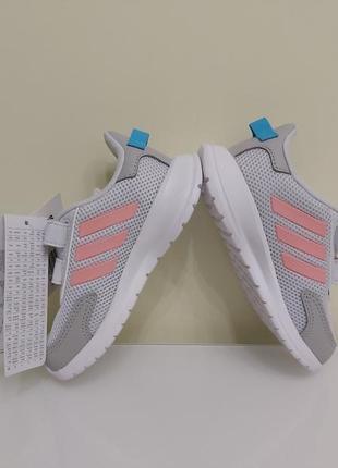 Легкие летние кроссовки для девочки adidas, сетка