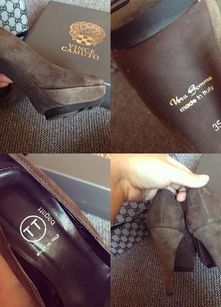 Туфли италия, натуральный замш