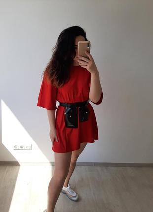 Платье футболка, удлинённая футболка, футболка оверсайз