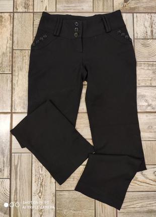 Штаны теплые классические черные