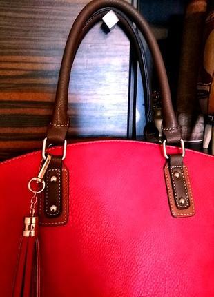 Стильная сумка из италии3 фото
