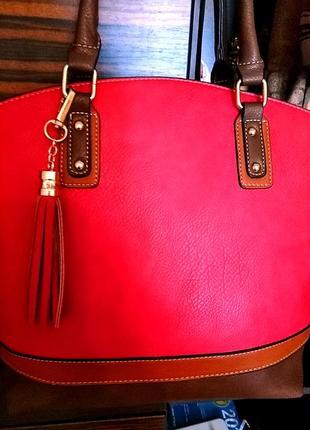 Стильная сумка из италии4 фото