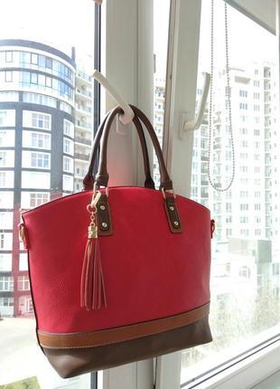 Стильная сумка из италии5 фото