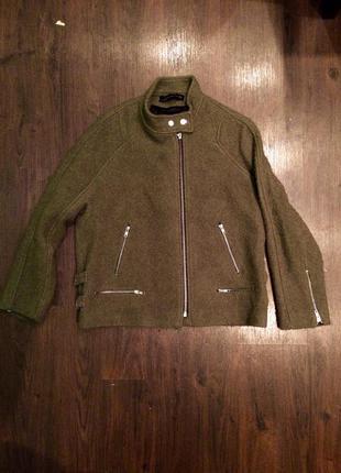 Куртка пальто zara букле