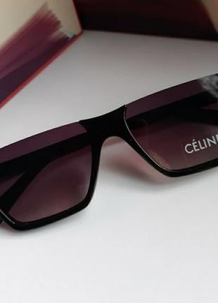 Модные узкие очки солнцезащитные  celine
