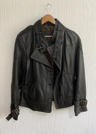 Кожаная куртка collezione