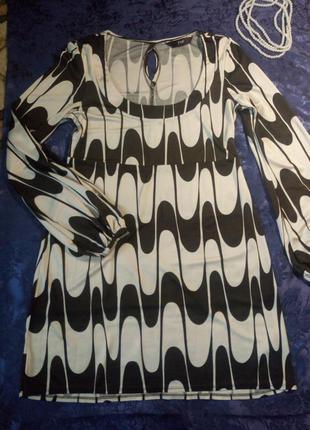 Платье с длинным рукавом f&f