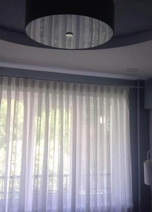Тюль,гардина белоснежная 5 метров