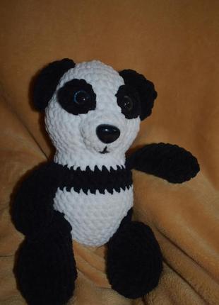 Панда амигуруми