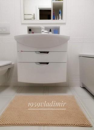 Коврик для ванной комнаты, персиковый цвет