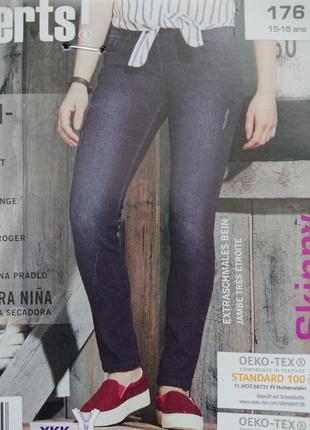Стильные джинсы для девочки подростка скини