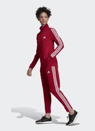 Adidas team sports track женский спортивный костюм l оригинал!3 фото