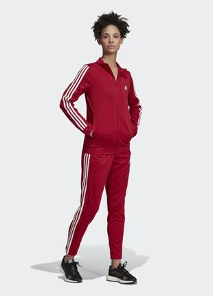 Adidas team sports track женский спортивный костюм l оригинал!