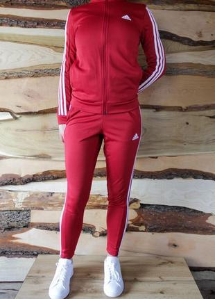 Adidas team sports track женский спортивный костюм l оригинал!5 фото