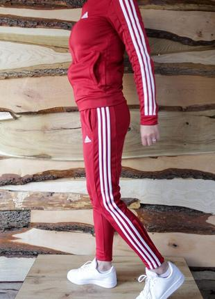 Adidas team sports track женский спортивный костюм l оригинал!7 фото