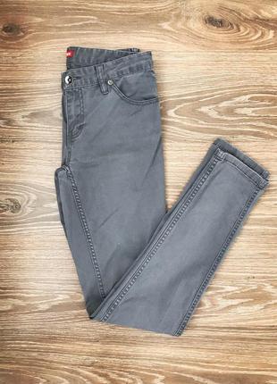 Серые зауженные джинсы твоё размер 44 s джинсы на лето на каждый день