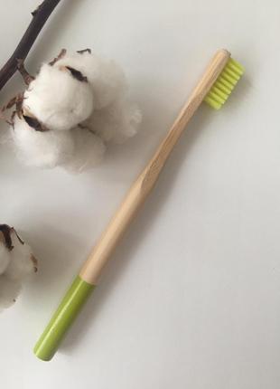 Зубная щётка, бамбуковая зубная щетка, натуральная зубная щетка, деревянная