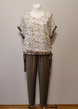 Шикарнейший комплект брюки и блузка