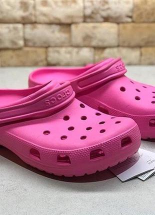 Оригинальные мужские тапки crocs