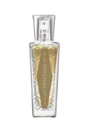 Женская парфюмированная вода avon attraction