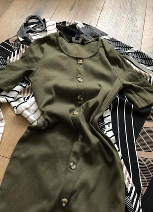 Платье с пуговицами2 фото