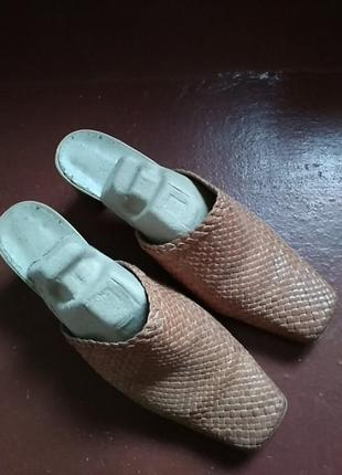 Туфли сабо шлепки