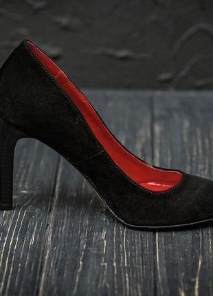 Туфли-лодочки кожа