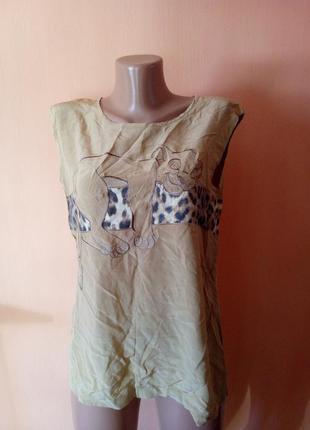 Блузка тигренок