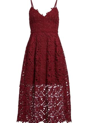 Кружевное платье astr the label