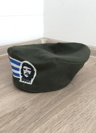 Берет коллекционный винтажный милитари куба че гевара