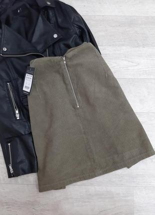 Вельветовая юбка от new look