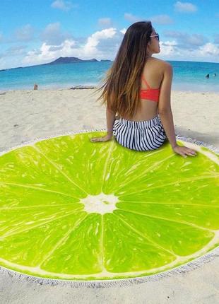 Пляжный коврики
